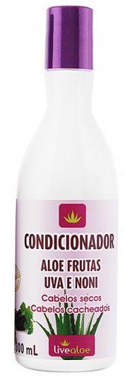 Condicionador Natural Aloe Frutas 300ml - Livealoe