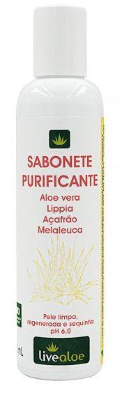 Sabonete Natural Purificante - Livealoe