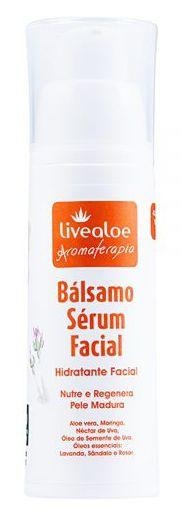 Bálsamo Sérum Facial Natural com Ácido Hialurônico e Colágeno Vegetal 30ml – Livealoe