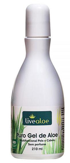 Puro Gel Multifuncional Natural de Aloe 210ml – Livealoe
