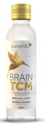 Brain TCM: Óleo de Coco Concentrado 300ml - Puravida