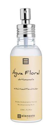 Água Floral de Hamamelis Bruma Hidratante Facial 120ml - Elemento Mineral