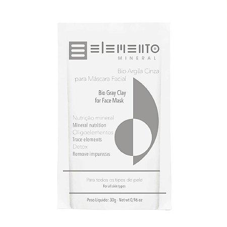 Bio Argila Cinza 30g - Elemento Mineral
