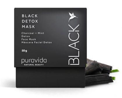 Black Detox Mask 50g - Puravida