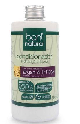 Condicionador Argan e Linhaça 500ml - Boni Natural