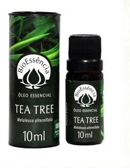 Óleo Essencial de Tea Tree/Melaleuca 10ml – BioEssência