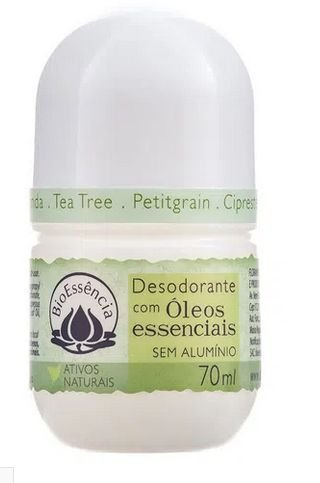 Desodorante Roll-on de Tea Tree 70ml – BioEssência