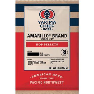 Lúpulo Amarillo® em pellet T-90 - 28.3g