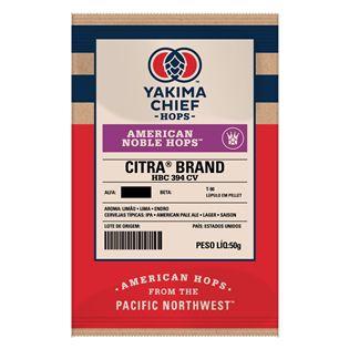 Lúpulo Citra® American Noble Hops™ em pellet 50g
