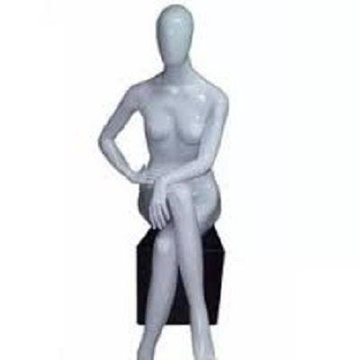 Branco - Manequim Sentada