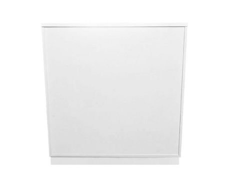 Balcão Simples Reto Branco