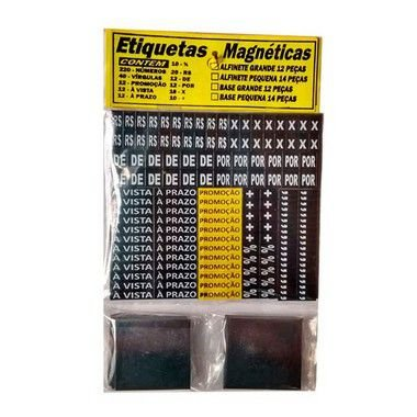 Display Etiqueta Magnética C/ Alfinete