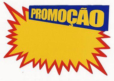Etiqueta Promoção Explosão