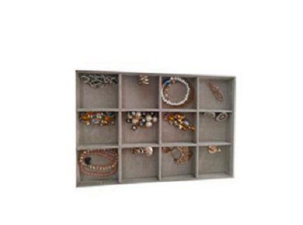 Bandeja de corino para pulseira