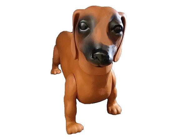 Manequim cachorro Salsicha