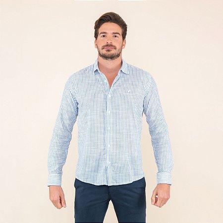 Camisa Masculina Manga Longa Listrada
