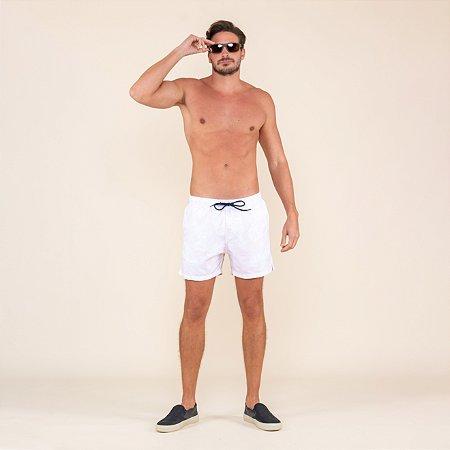 Shorts Masculino Estampado Hibisco