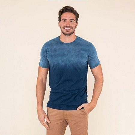Camiseta Masculina Estonada Degrade