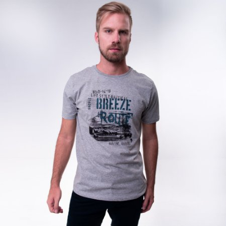 CAMISETA MASCULINA SUMMER BREEZE