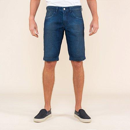 Bermuda Masculina Slim Jeans