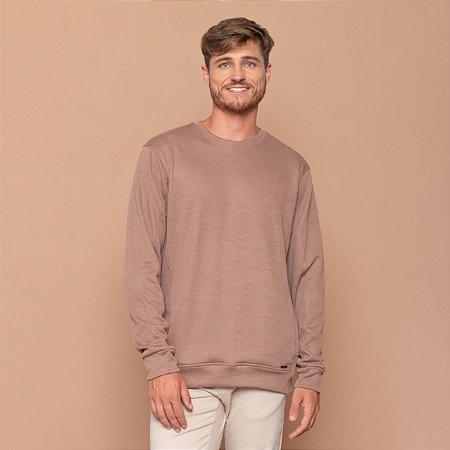 Blusa Masculino Texturizada Com Bolsos