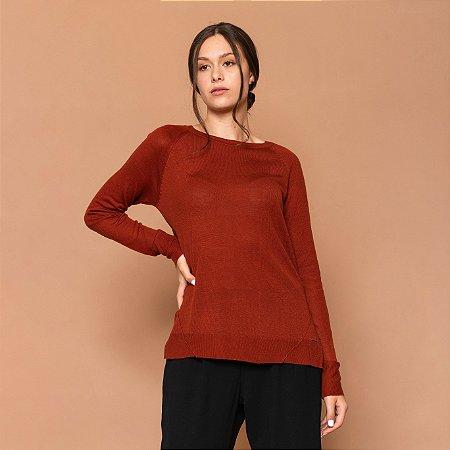 Blusa Feminina Tricot Alongado