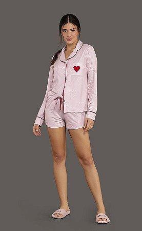 Pijama Short All Heart