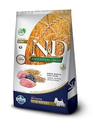 Ração Farmina Nd Ancestral Cordeiro 10,1 Kg para Cães Adultos Raças Pequenas