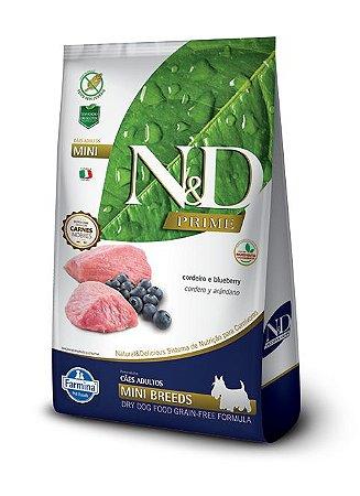 Ração Farmina Nd Prime Cordeiro 2,5kg para Cães Adultos Raças Pequenas