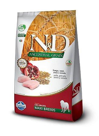 Ração Farmina Nd Ancestral Frango 10,1kg para Cães Adultos Raças Grandes