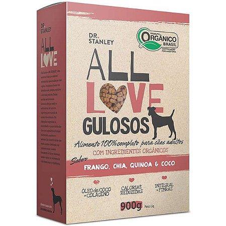 Ração All Love  Gulosos 900gr Sabor Frango, Chia, Quinoa & Coco