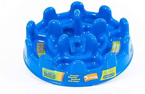 Comedouro Pet Fit - Azul