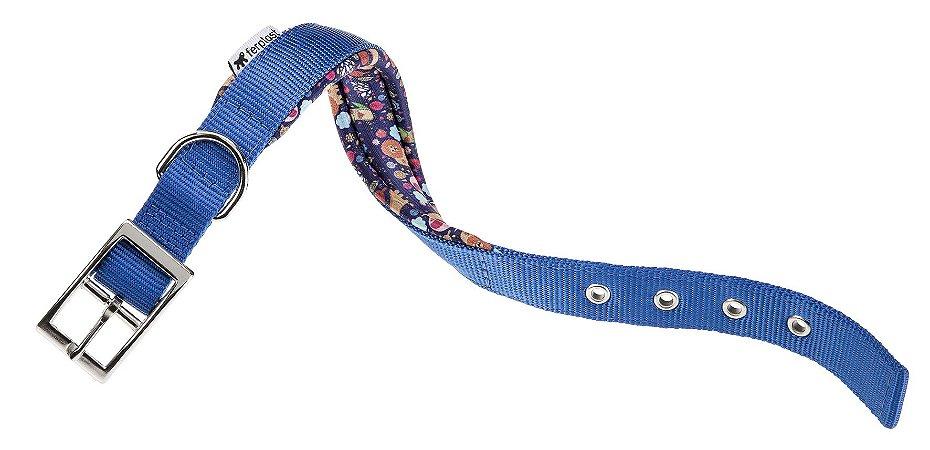Coleira Daytona Fan C25/45 Azul