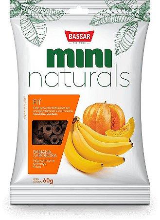 Mini Naturals Fit - Banana E Abóbora
