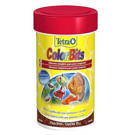 tetra colorbits tropical granules 30g EX COLOR BITS