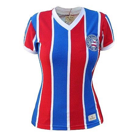 Camisa Retrô Feminina EC Bahia 1988