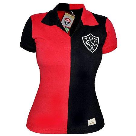 Camisa Retrô Feminina EC Vitória 1908