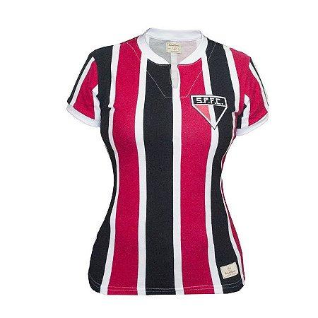 Camisa Retrô Feminina São Paulo 1971