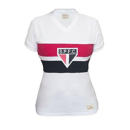 Camisa Retrô Feminina São Paulo 1980