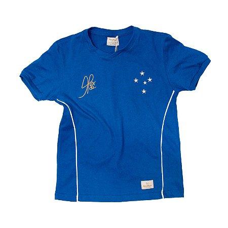 Camisa Retrô Juvenil Cruzeiro 2003 Copa do Brasil Alex