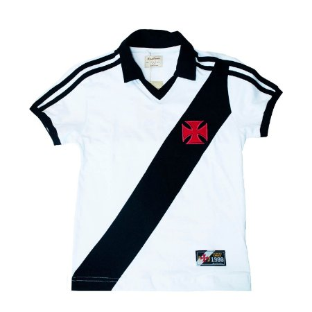 Camisa Retrô Juvenil Vasco da Gama 1988