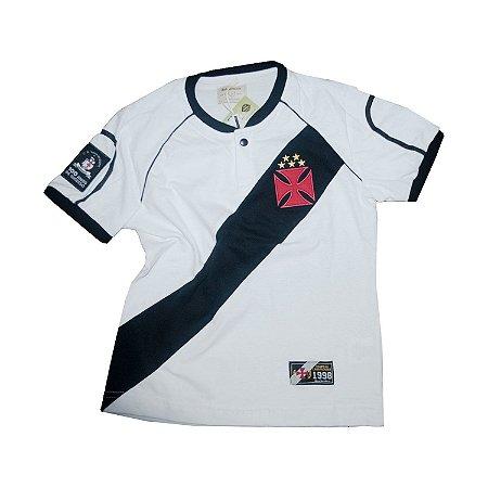 Camisa Retrô Juvenil Vasco da Gama 1998 - Libertadores
