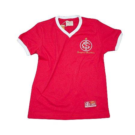 Camisa Retrô Juvenil Internacional 1975