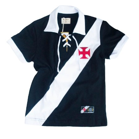 Camisa Retrô Juvenil Vasco da Gama Cordinha