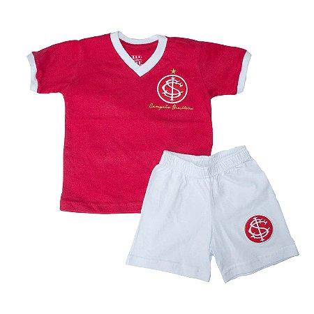 Kit Infantil Camisa Retrô Internacional 1975
