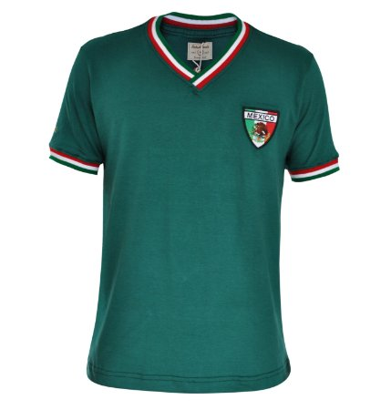 Camisa Retrô México 1970