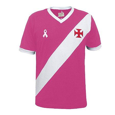 Camisa Retrô Vasco da Gama - Outubro Rosa