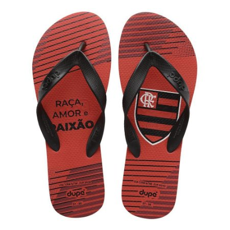 Chinelo Flamengo Dupé