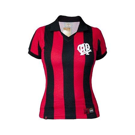 Camisa Retrô Feminina Athletico Paranaense 1990