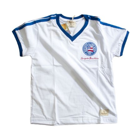 Camisa Retrô Juvenil EC Bahia 1988 Branca